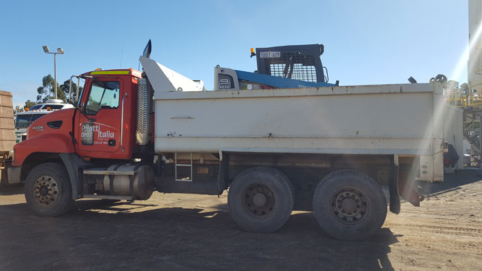 Plant Hire truck
